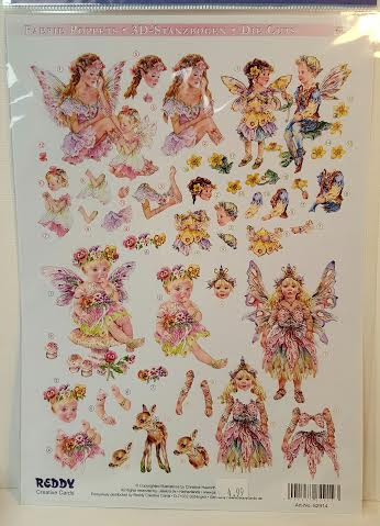 Beautiful Fairy Decoupage Kits