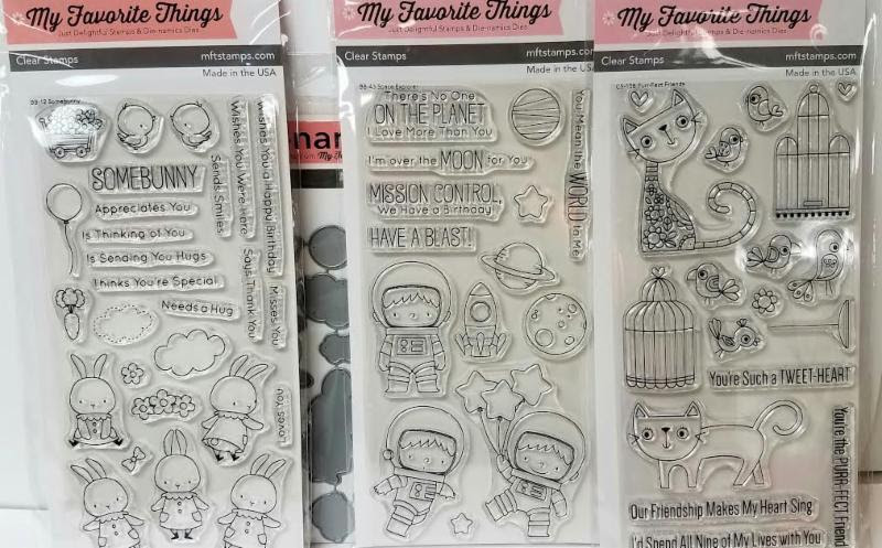 My Favorite Things Stamps and Dies