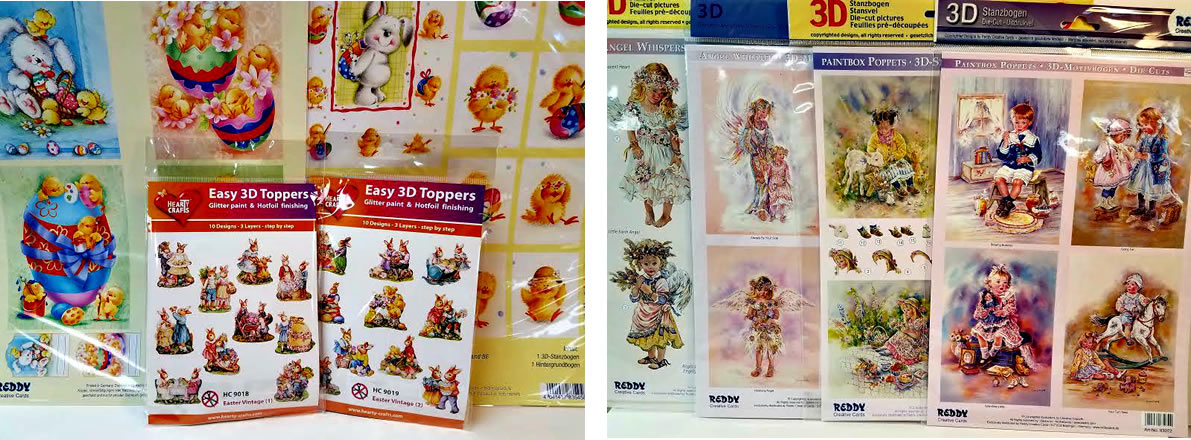 New 3-D Card Kits and Toppers