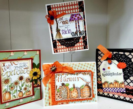 Watercolor Cards with Tracie
