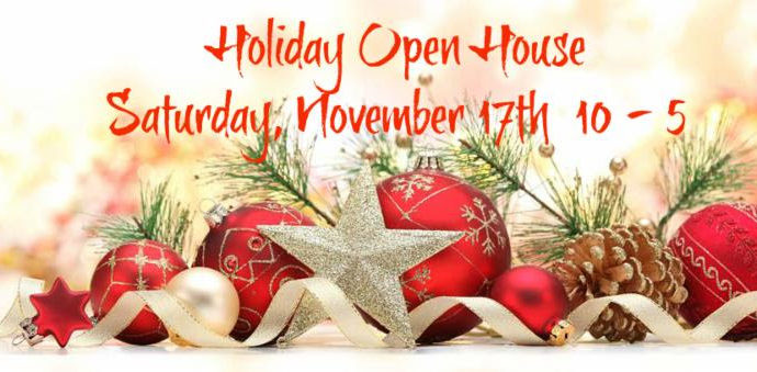 Holiday Open House! New Products