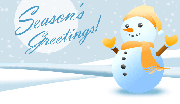Sending warm wishes and cheer