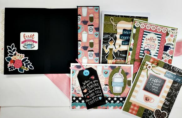 Coffee Card Kit in a Gift Box