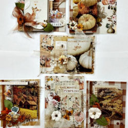 Autumn Sunset Cards