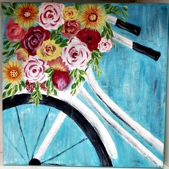 Bicycle Mixed Media