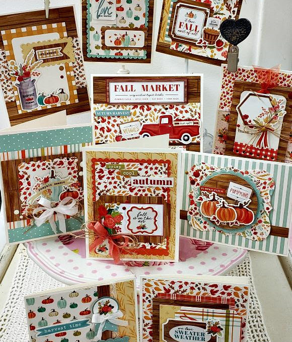 Fall Market Cards