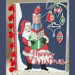 Merry Christmas Tag Book