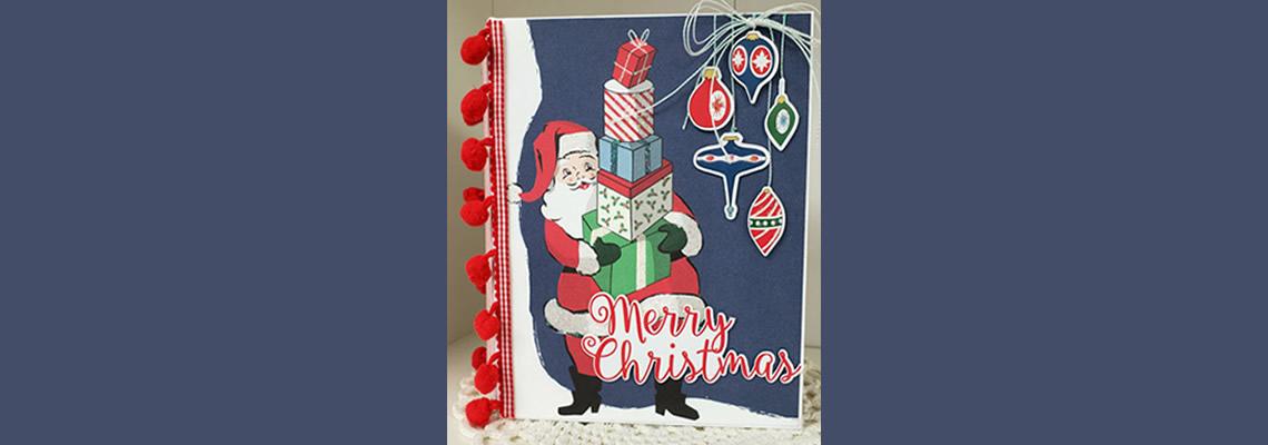 Merry Christmas Tag Book