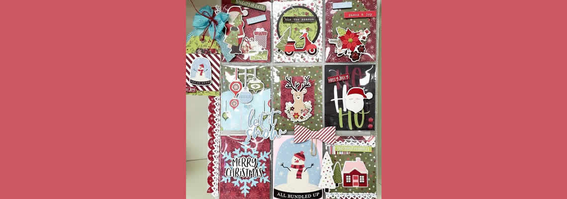 Holly Jolly Pocket Letters